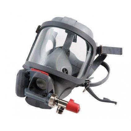 Maska s plicní automatikou MEVA, Spiromatic S NR, náhlavní kříž, by pass 2