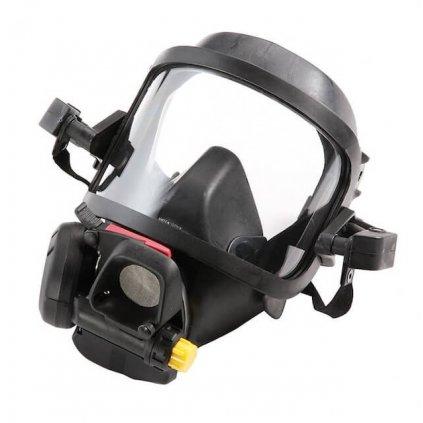 Maska s plicní automatikou Meva, Spiromatic S NR, adaptér Gallet