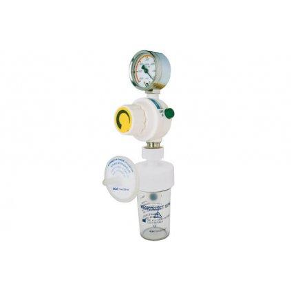 Podtlakový regulátor GCE, MEDIEVAC+ 1000, sada s bezpečnostní lahví a filtrem