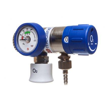Lahvový redukční ventil GCE, MEDISELECT II, 6 l/min