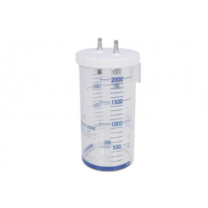 Sběrná odsávací lahev GCE, MEDICOLLECT 2000, polykarbonát, nasaz. víko