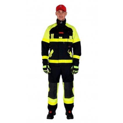Jednovrstvý zásahový ochranný oblek pro hasiče GOODPRO FR2 FireSnake plus HV