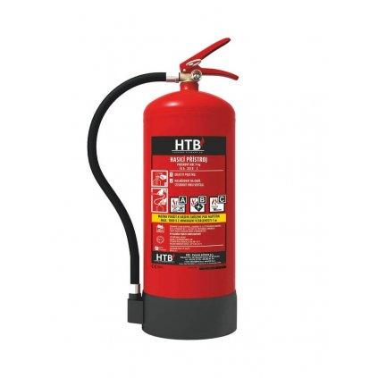 Hasicí přístroj práškový HTB P12M/ETS (43A/233B/C)