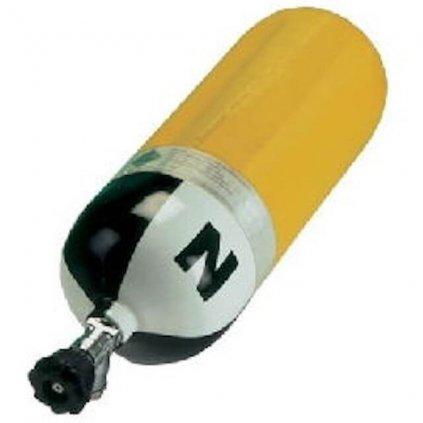 Tlaková kompozitní lahev LUXFER L67B ventil VTI EFV 6,8L/300 bar
