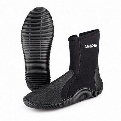 Neoprenové boty AGAMA STREAM NEW 5 mm