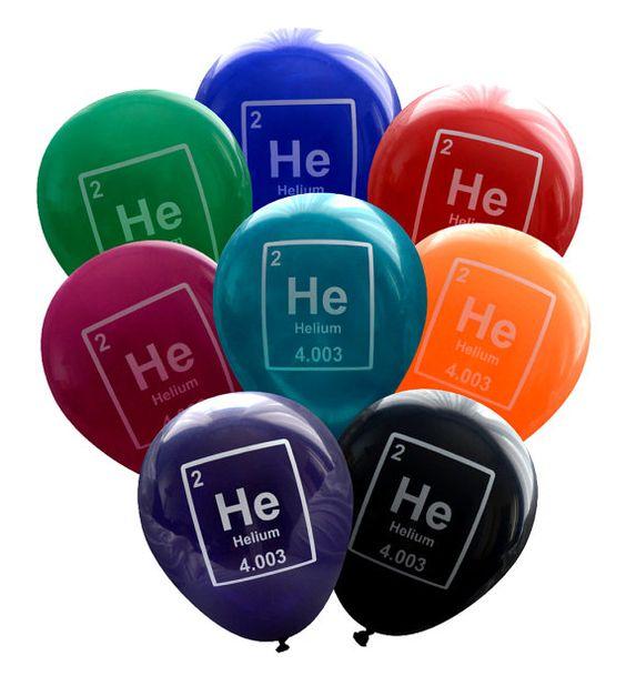 Helium a příslušenství