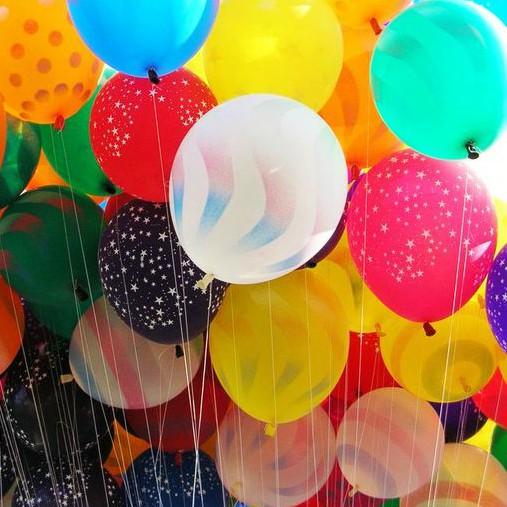 Balonky s potiskem