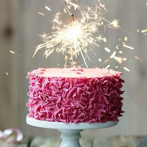 Fontánky na dort