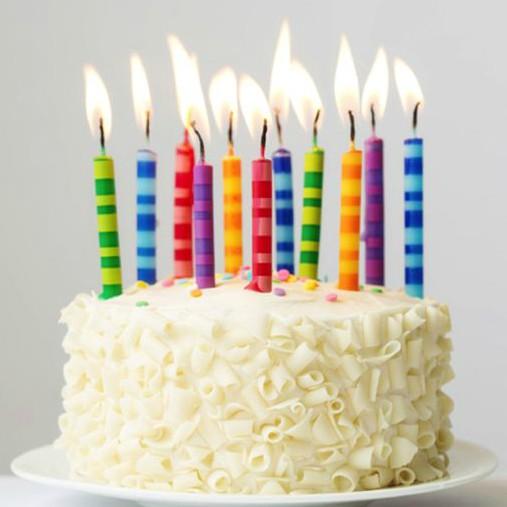 Svíčky na dort