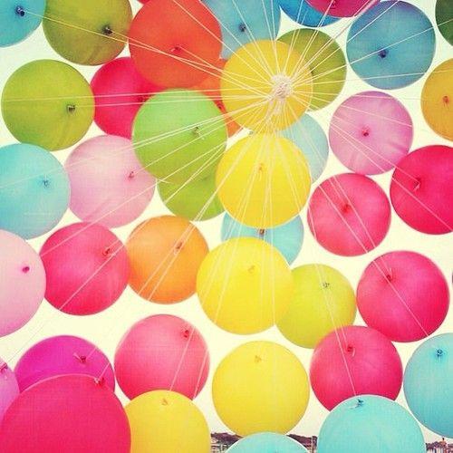 Balonky latexové barevné