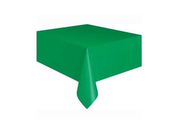 Ubrus plastový světle zelený