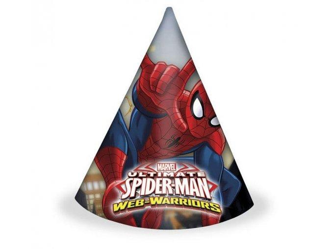 czapeczki spiderman