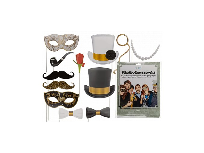 party photo accessories on stick 15937