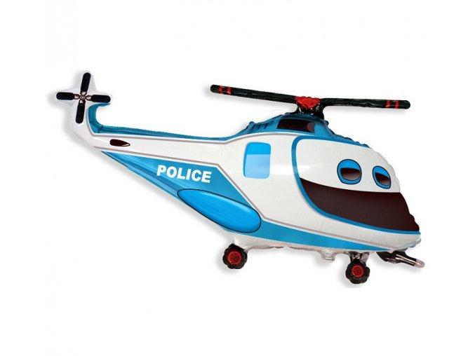 balon helikopter policyjny