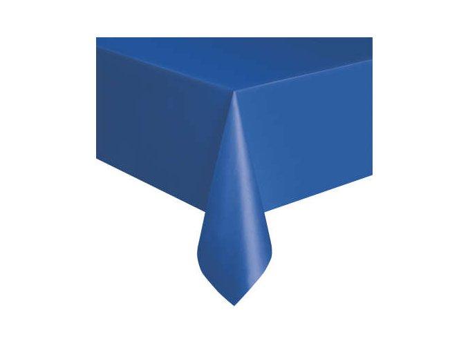 Ubrus plastový námořnická modř