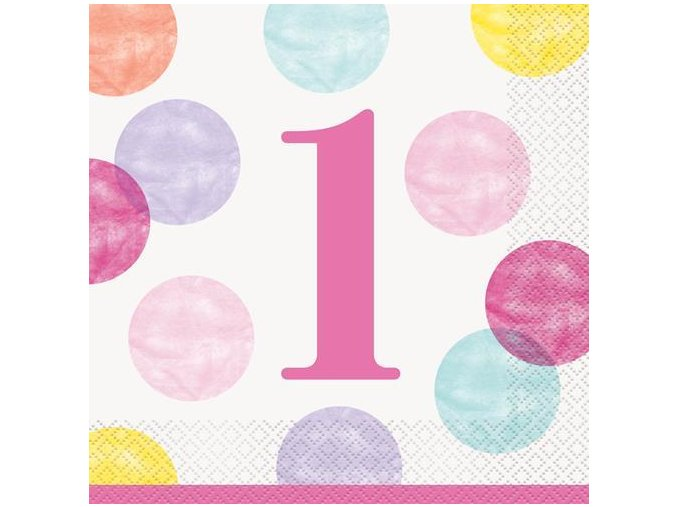 Ubrousky 1. narozeniny GIRL