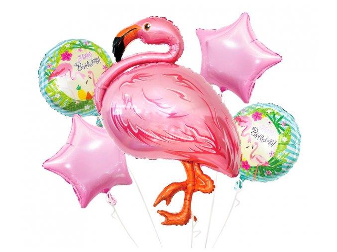 Balónky set PLAMEŇÁK 5ks