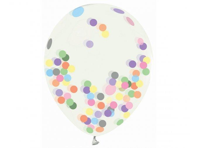 balony helium formula transparentne kolorowe kon