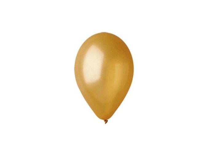 Balonek metalicky zlaty 45RR12MZLAT