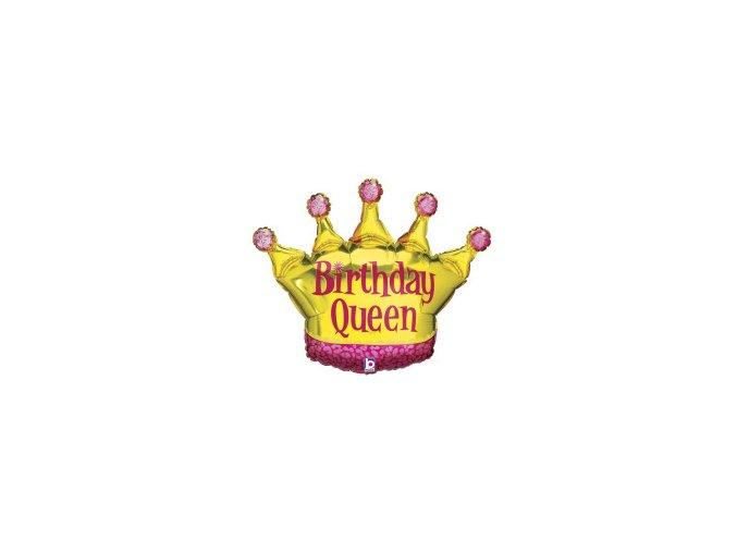 Balonek foliový Narozeninová královna
