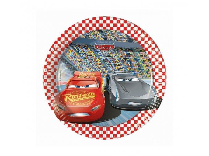 talerzyki papierowe cars the legend of the track