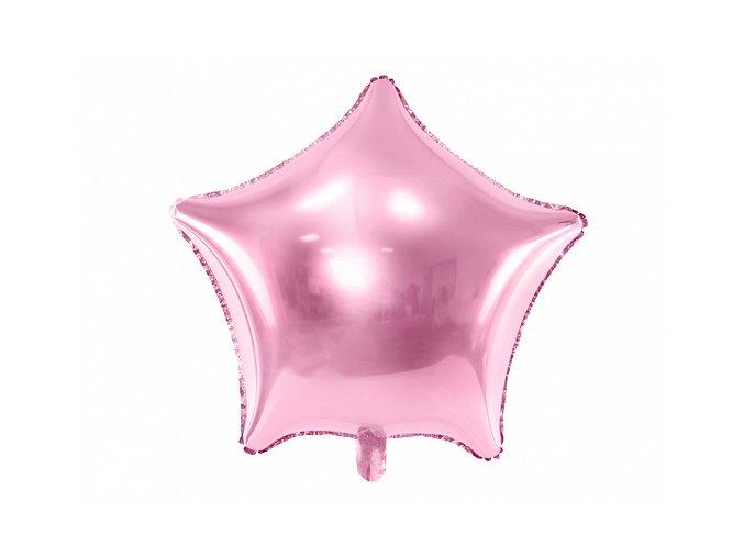 balon foliowy 18 fx gwiazda j rozowy