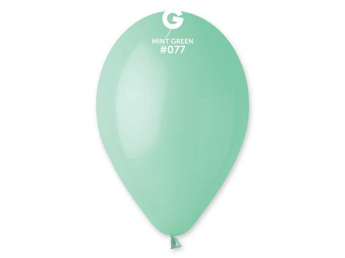 Balonek pastelový mint 30 cm