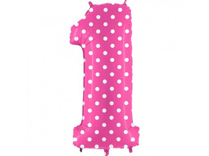 841PF Number 1 Pois Fuxia