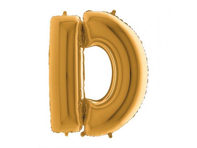 232G Letter D Gold