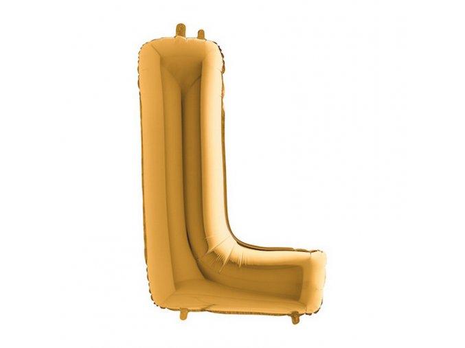 312G Letter L Gold