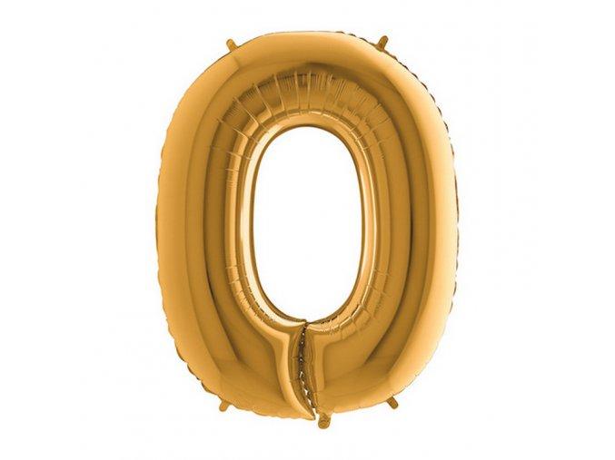 342G Letter O Gold