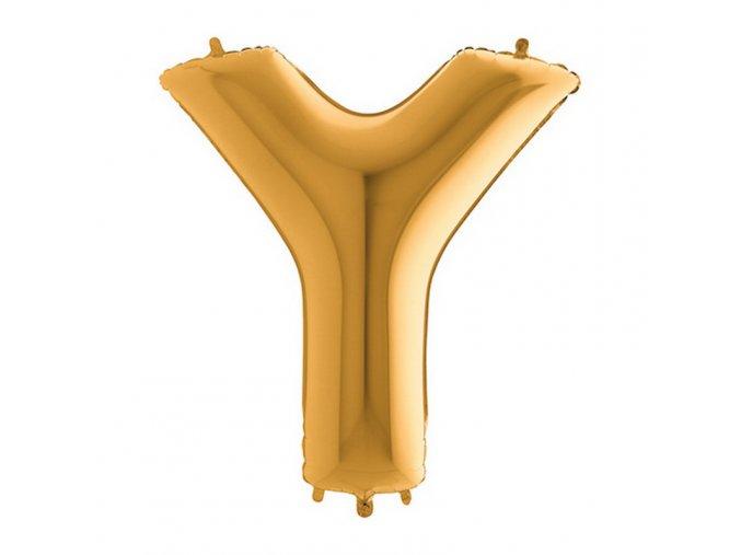442G Letter Y Gold