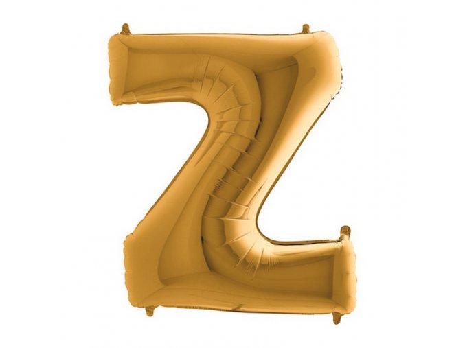 452G Letter Z Gold