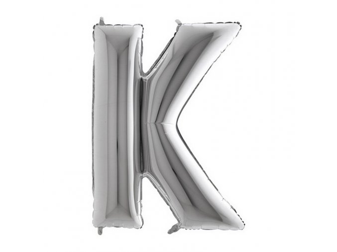 309S Letter K Silver