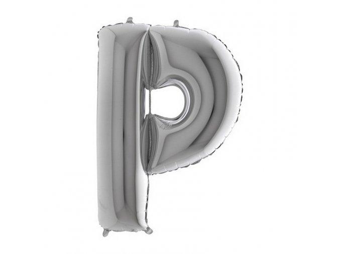 359S Letter P Silver