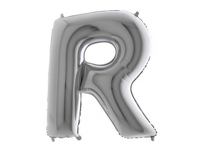 379S Letter R Silver