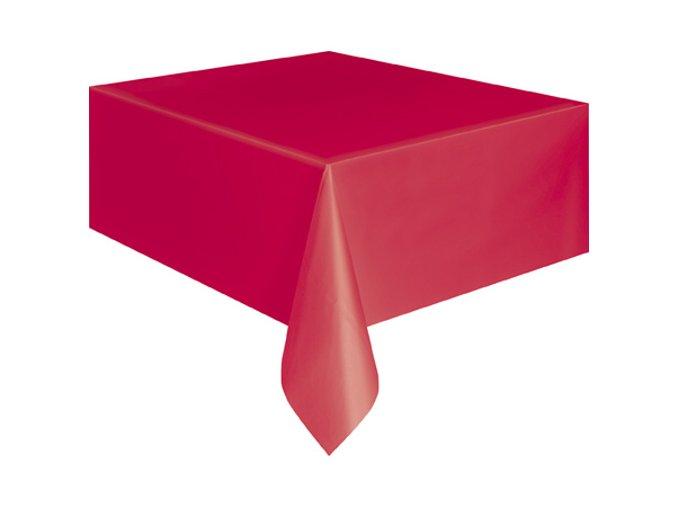 Ubrus plastovy Ruby Red 105094