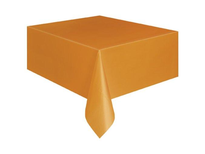 Ubrus plastovy Pumpkin Orange 105097