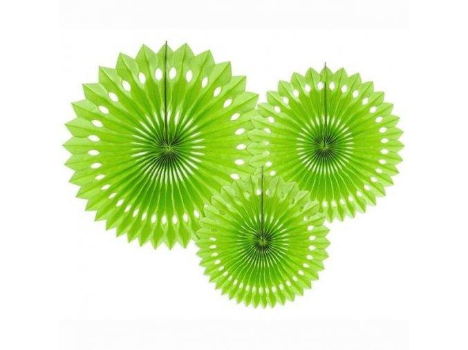ROZETY zelene jablko 3ks 55RPB1102J(1)