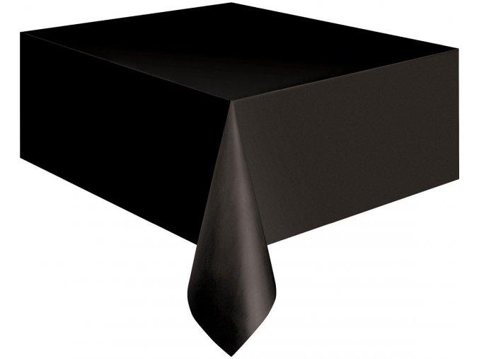 obrus czarny rozm 137 x 275 cm