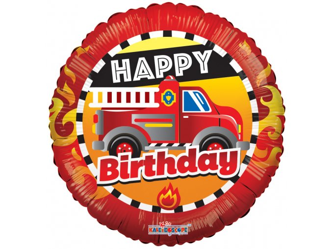 Balonek foliový HB hasiči