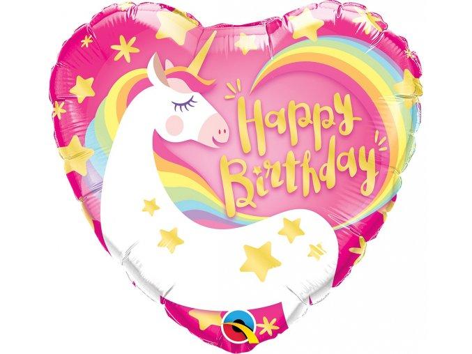 balon foliowy urodzinowy 18 ql hrt birthday magi