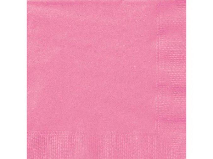 serwetki papierowe rozowe 20 szt