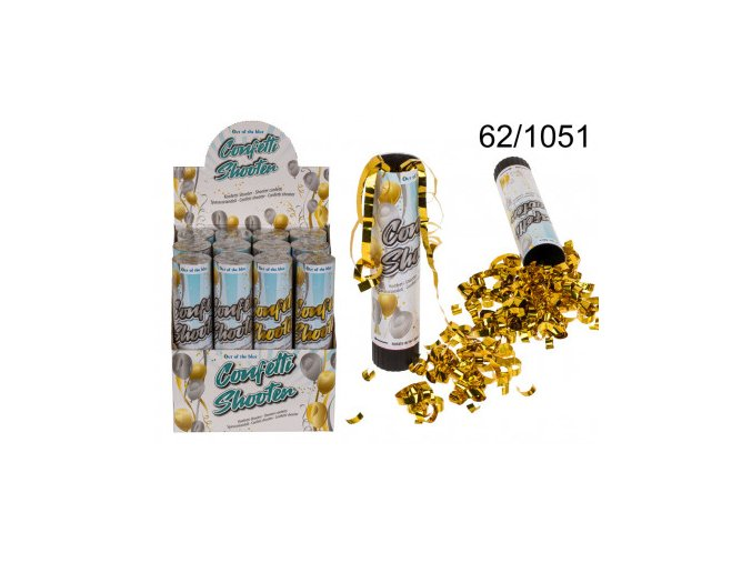 konfetti shooter ca 20 cm 20617