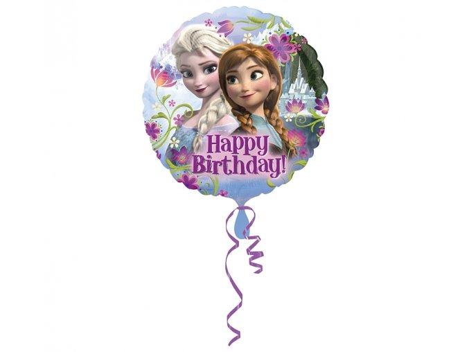 balon urodzinowy kraina lodu