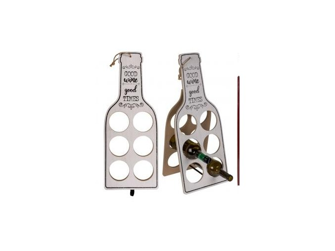 holz weinhalter mdf good wine good times 19572