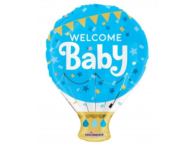 Balonek foliový WELCOME BABY