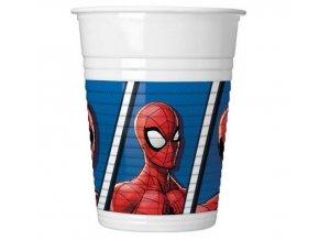kubeczki plastikowe spiderman team up 200 ml 8