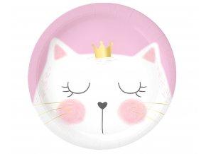 talerzyki papierowe kotek