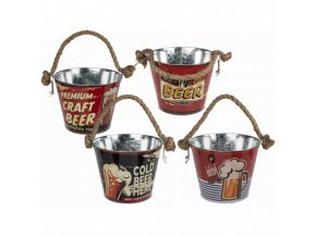 metal beer bucket with bottle opener beer 26895